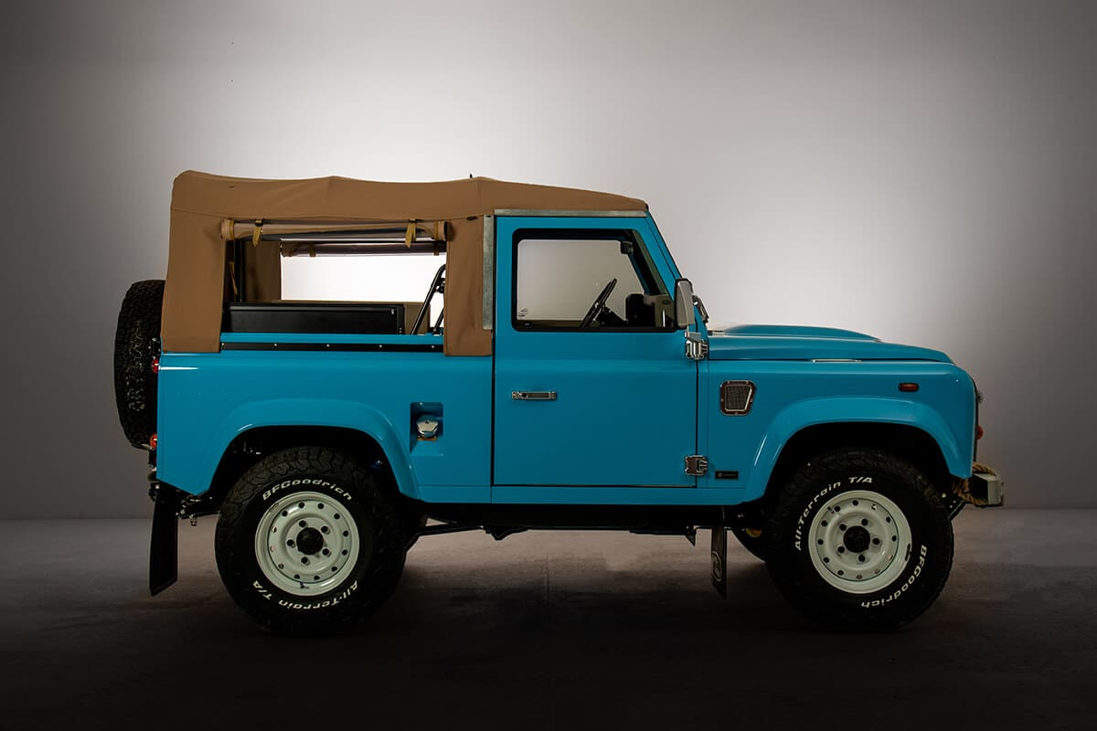 A Helderburg Bespoke Build D90 Soft Top takes over 3,100 man hours to build. Perfection takes time but we've never had a client say it was not worth the wait. Average timeline to completion is 12 months. Send this picture to friend and ask them to come with you to visit us in Sharon Springs, NY.