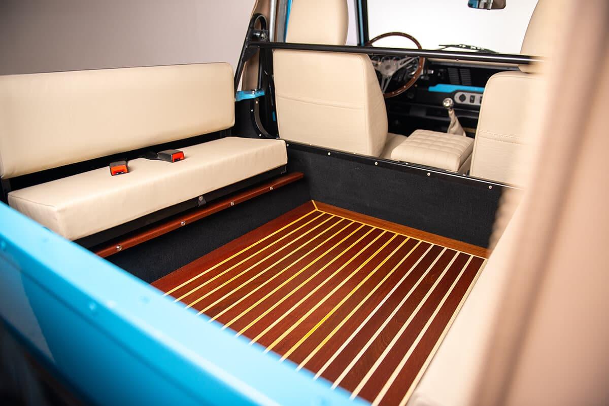 Helderburg Land Rover Defender D90 Bespoke Wood Floor
