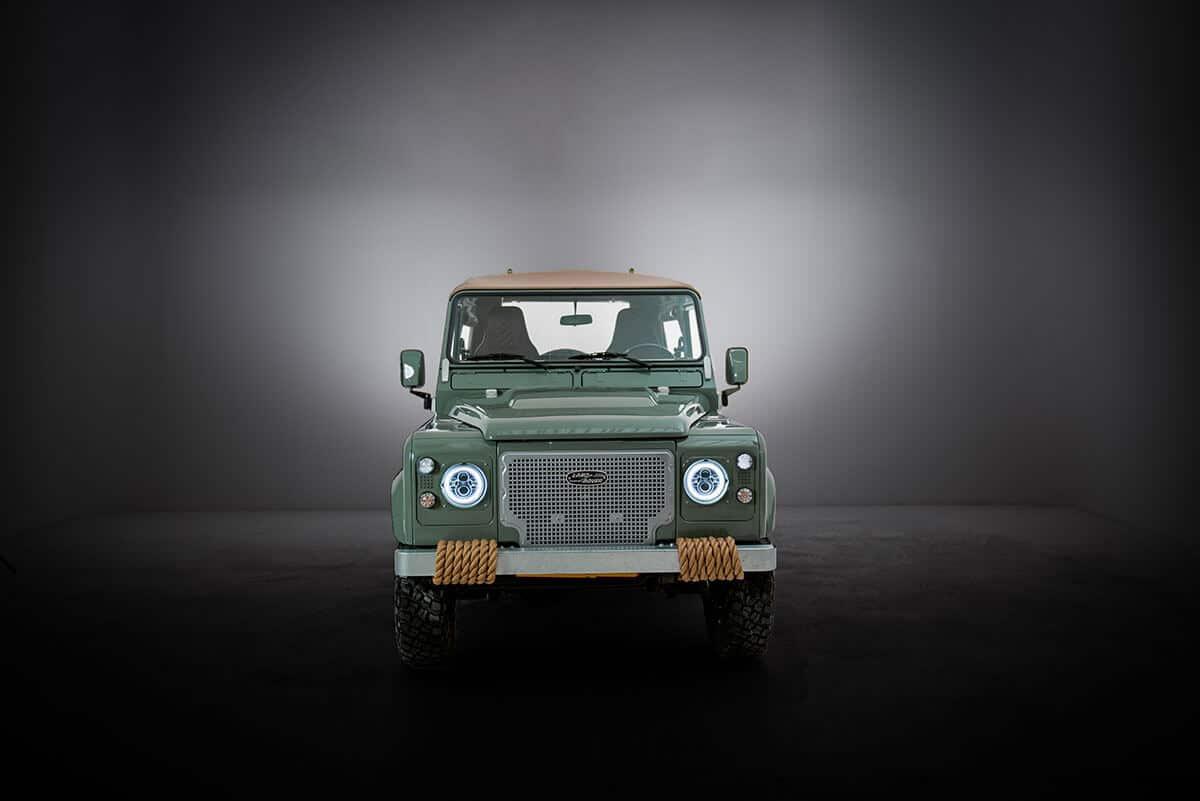 Helderburg D90 Soft Top Defender Exterior