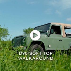 D90 Soft Top Derwent Walkaround