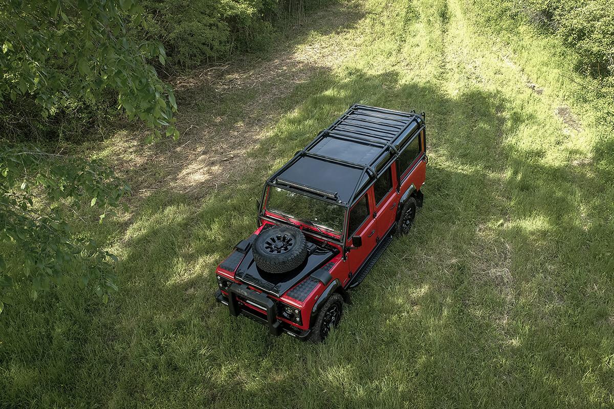 Helderburg Land Rover Defender D110