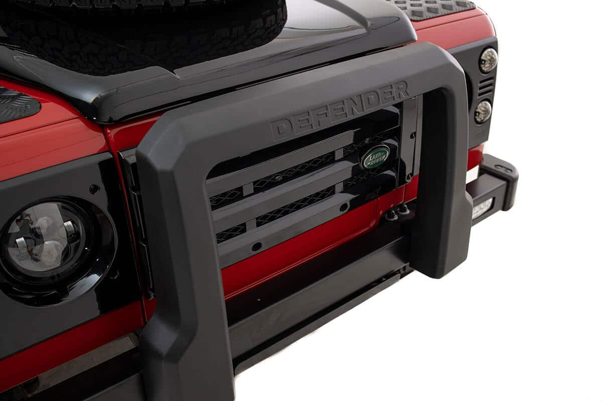 Helderburg Land Rover Defender D110 - Exterior Detail: Bumper and Nudge Bar