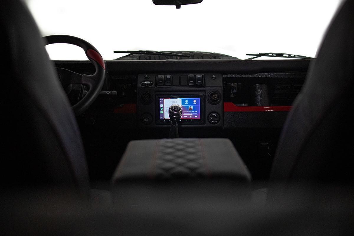 Helderburg Land Rover Defender D110 - Interior Details: Cabin