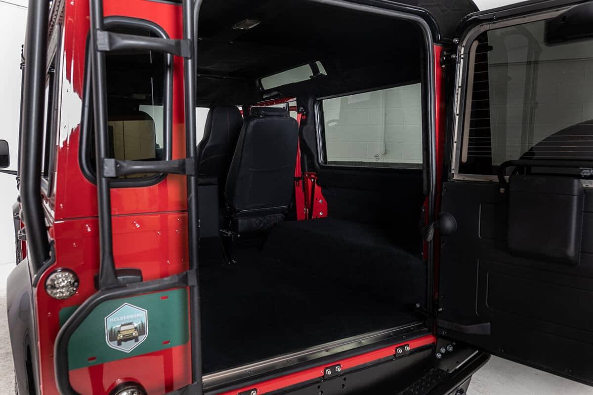 Helderburg Land Rover Defender D110 - Interior Details: Leather Cagro Seating