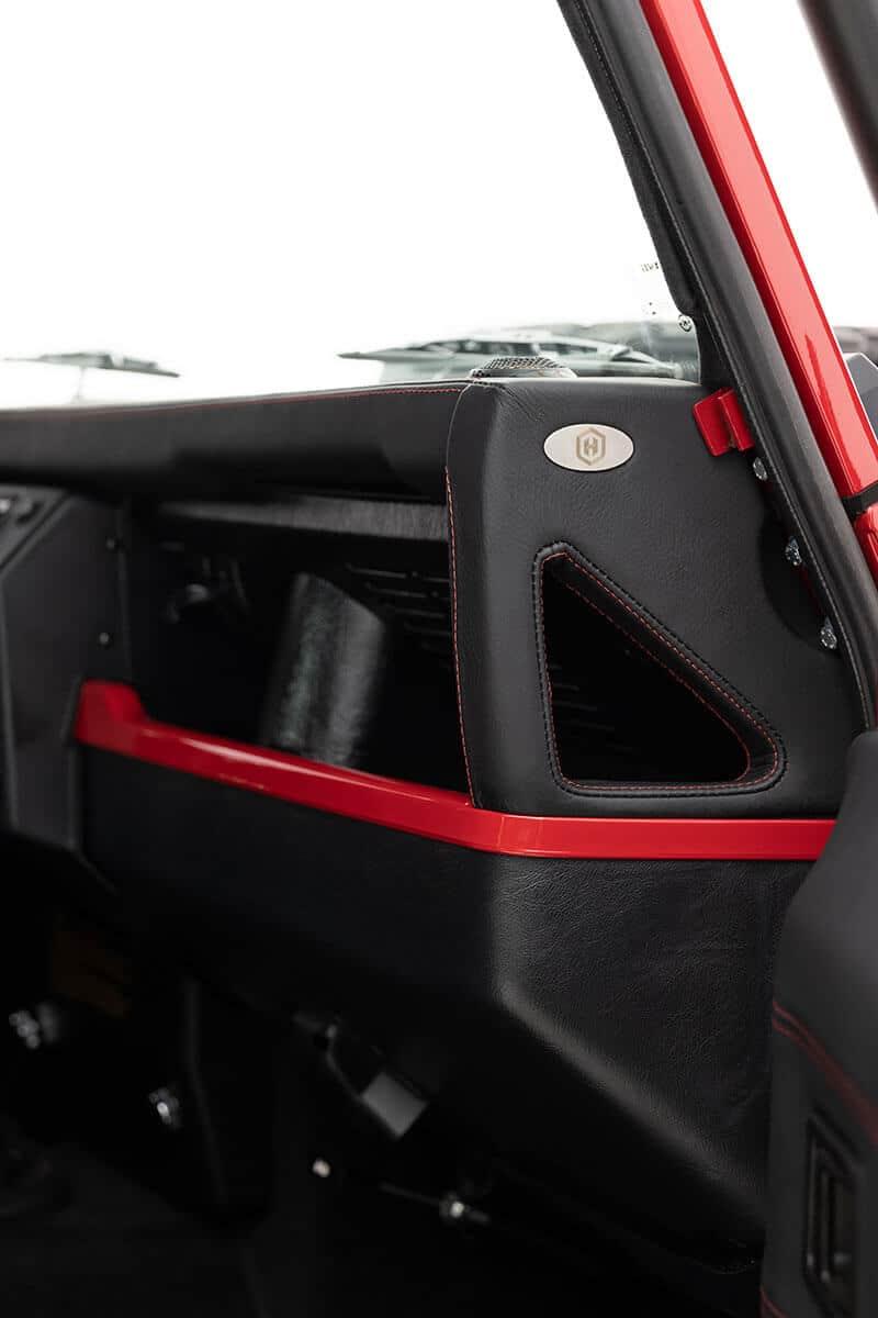 Helderburg Land Rover Defender D110 - Interior: Leather Dash
