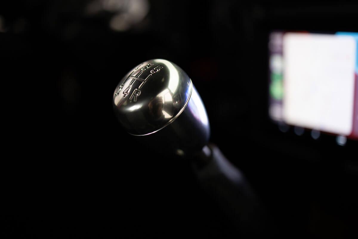 Helderburg Land Rover Defender D110 - Interior Details: Gear Shift