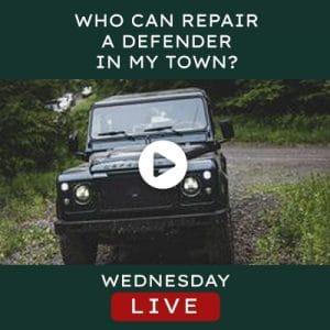 Helderburg Live – Who can repair a Defender in my town?