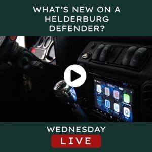 Helderburg Live – What's New on a Helderburg Defender?