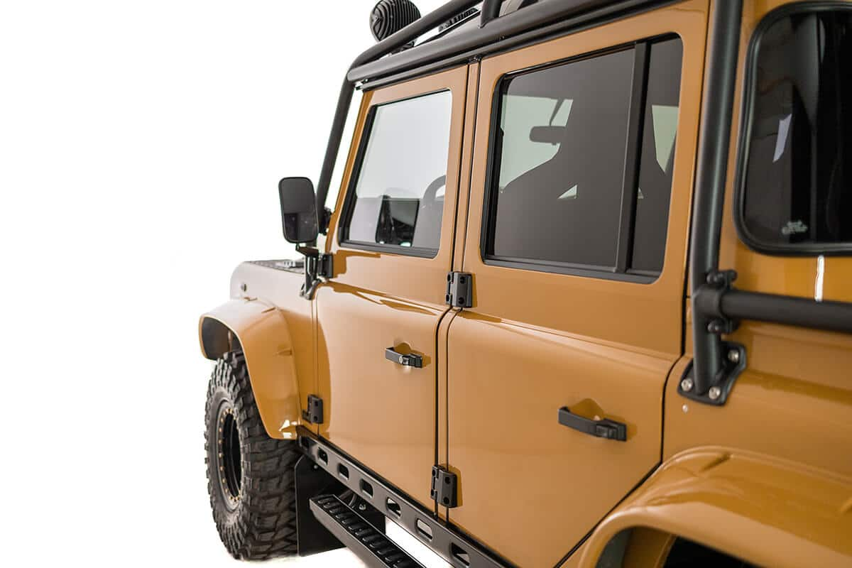 Every Bespoke Helderburg (custom built) started life as an Authentic British Left Hand Drive Defender. We don't work with right hand drive or non British Defenders from Spain, Turkey, South Africa or Japan. Only Authentic True British Defenders for The Helderburg Bespoke Program.