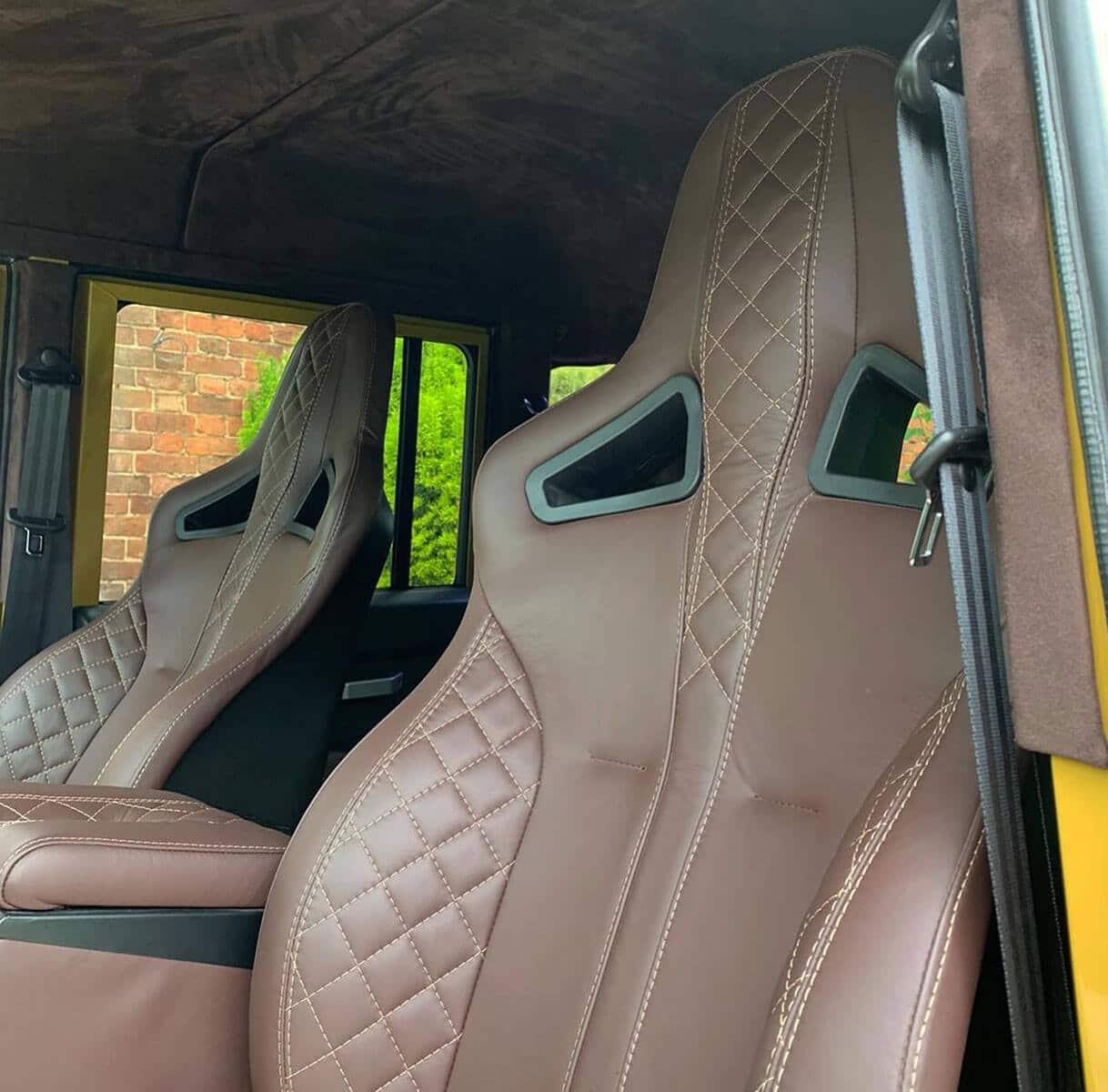 Bayeux The Spectre D110 Double Cab Interior