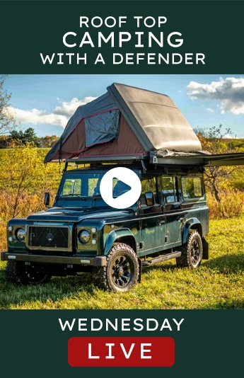 Helderburg Live – Roof Top Camping with a Defender