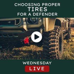Helderburg Live – Choosing Proper Tires for your Defender